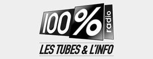 Logo 100 pourcent radio