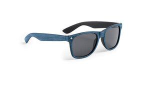 Lunettes de soleil personnalisées leychan bleu