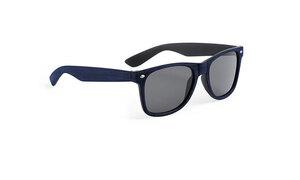 Lunettes de soleil personnalisées leychan bleu marine