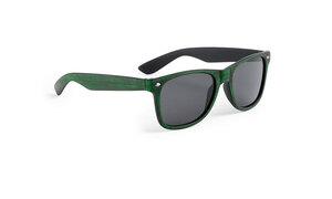 Lunettes de soleil personnalisées leychan verte