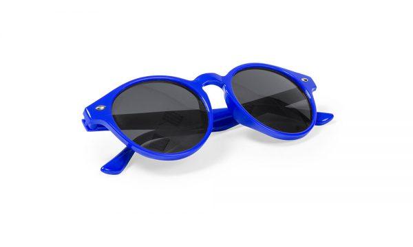 Lunettes de soleil personnalisées nixtu bleu
