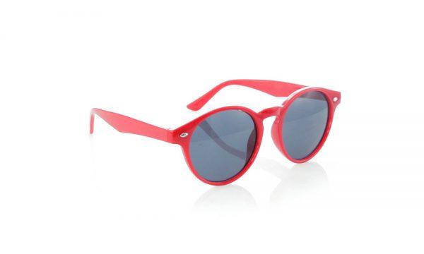Lunettes de soleil personnalisées nixtu rouge 2