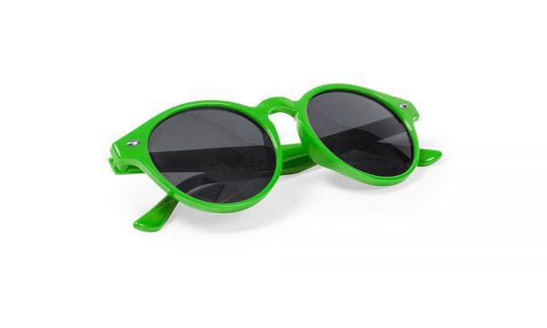 Lunettes de soleil personnalisées nixtu verte