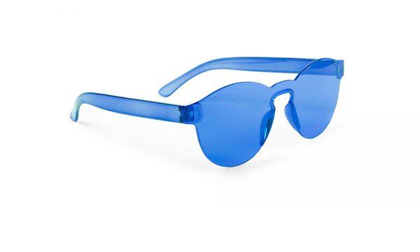 Lunettes de soleil personnalisées tunak bleu