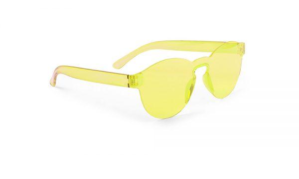 Lunettes de soleil personnalisées tunak jaune