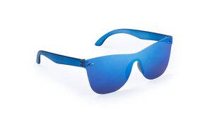 Lunettes de soleil personnalisées zarem bleu