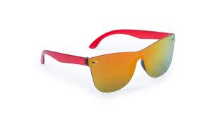 Lunettes de soleil personnalisées zarem rouge
