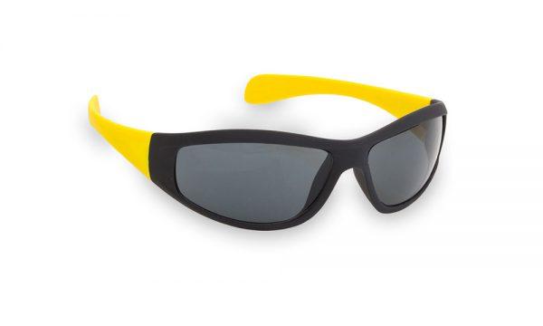 Lunette personnalisée sport jaune