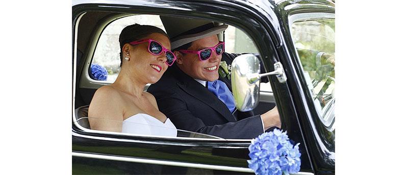 Lunette personnalisée pour votre mariage