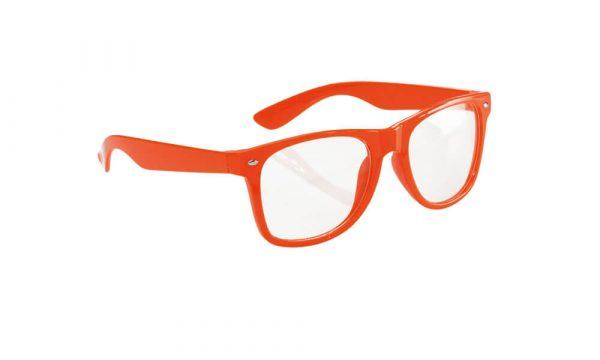 Lunette personnalisée classico clair orange
